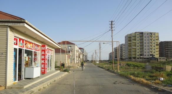 Street near Yanar Dag