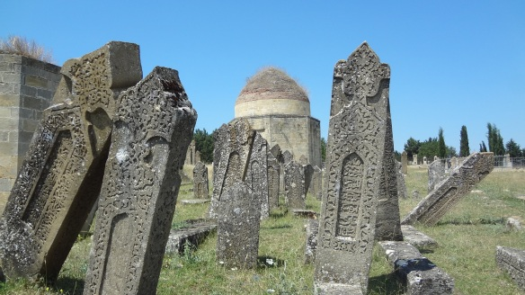 The gravestones which remember former times
