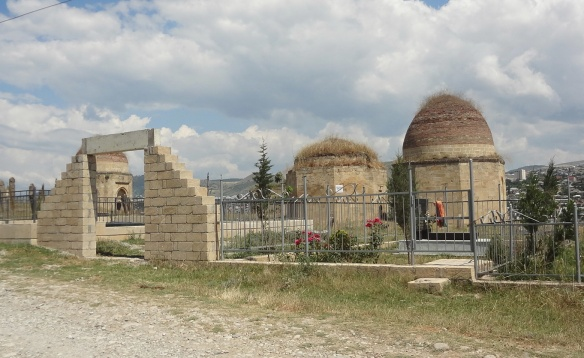 The Entrance of Seven Domes (Yeddi Gumbez Mausoleum)