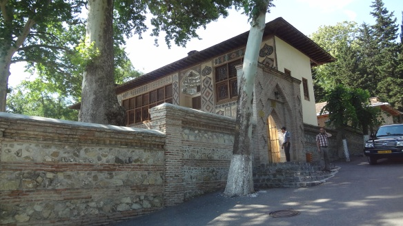 Entrance of Sheki Khan Palace