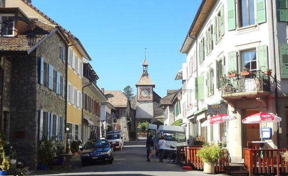 Old Town of Saint-Prex, Switzerland