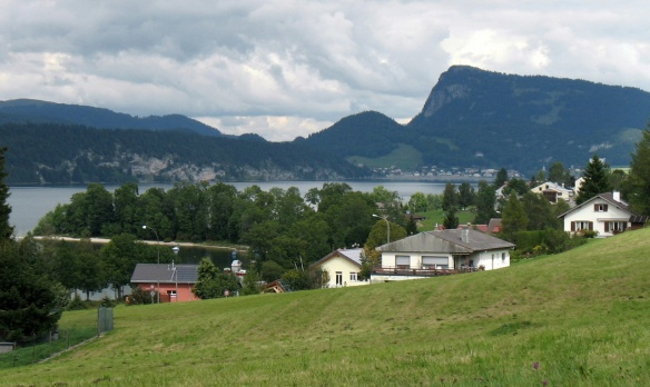 "The lovely village ""Les Bioux"" and The lake ""Lac de Joux"""