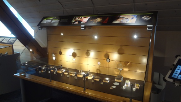 Exhibits of the museum