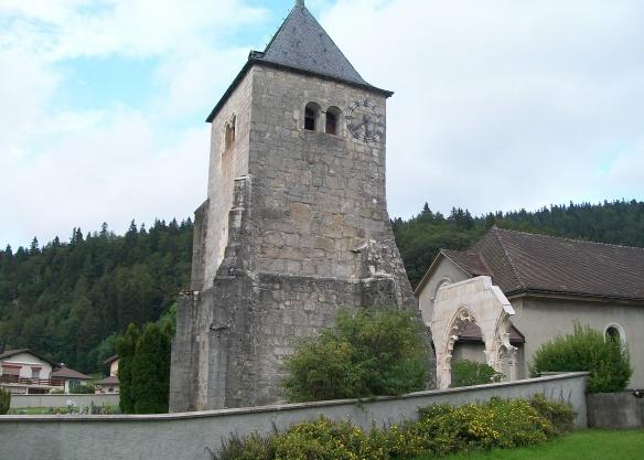 Eglise de l'Abbaye, Vallée de Joux