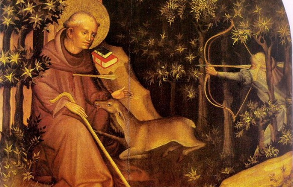 St. Egidius(St. Giles in English, circa 650-710)