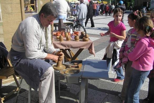 Považská Bystrica open-air market