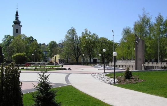 Freedom Square in Stara Tura
