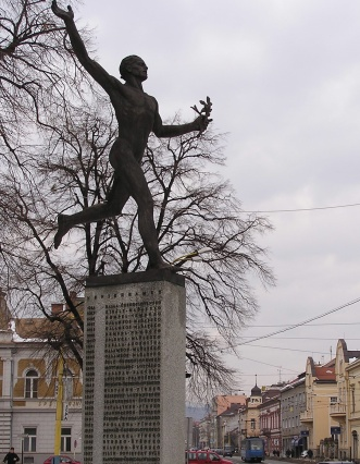 Statue of a Marathon Runner