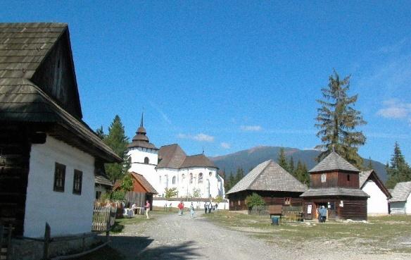 Square Freedom Square in Stara Tura