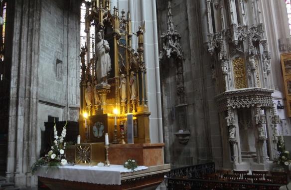 Altar of St. Francis, St. Elizabeth Cathedral