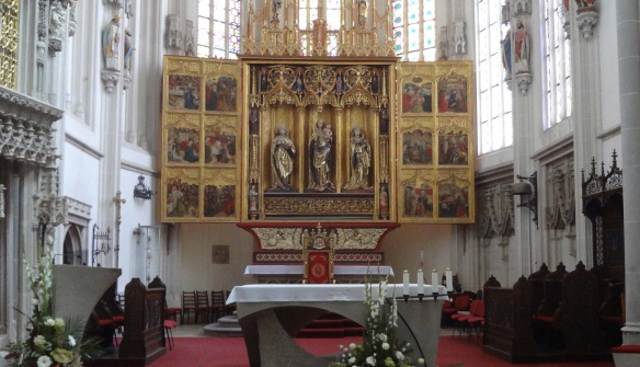 The Alter of Elizabeth Cathedral