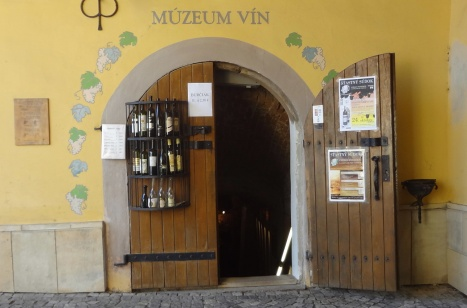 Entrance to the wine museum