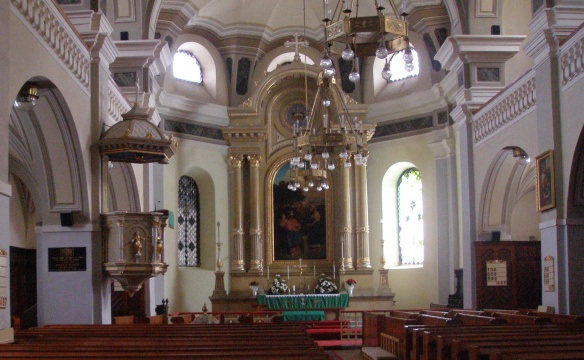 Main Alter of the Evangelical Church