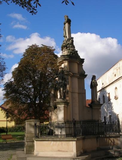 St. Rochus Statue