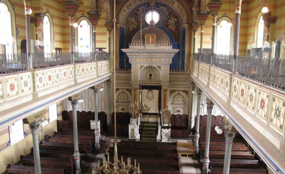 Sanctuary of Orthodox Synagogue