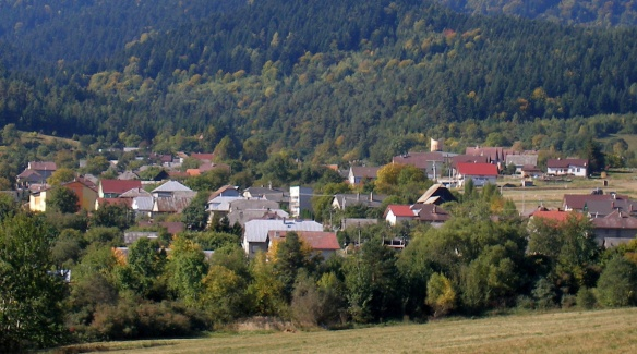 Hervartov is a little pretty village.