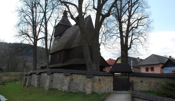 Wooden church in Hervatov