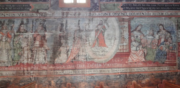 Wall-paintings of the church