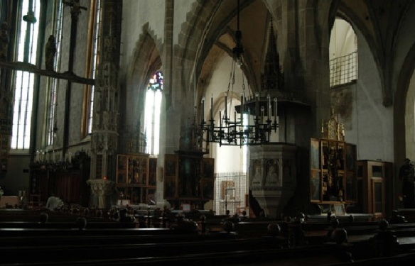 Interior of St. Egidius Church