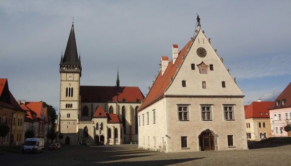 The Town Hall and Church of St. Egidius