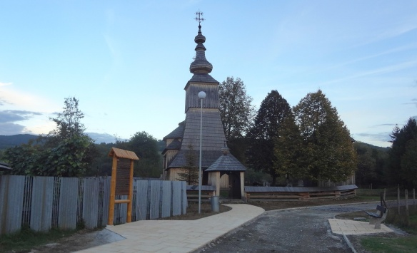 Greek Orthodox wooden church of Archangel Michael in Ladomirová