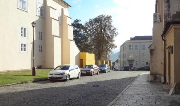 Main Street of Spišská Kapitula