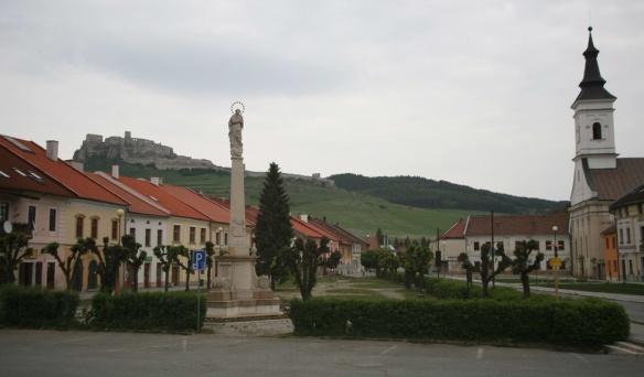 Spišské Podhradie Town Centre