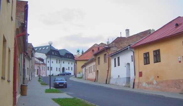 Towards the Centre of Levoca City