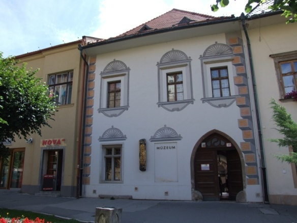 Majstra Pavla dom (Master Paul's House), now it's the museum.