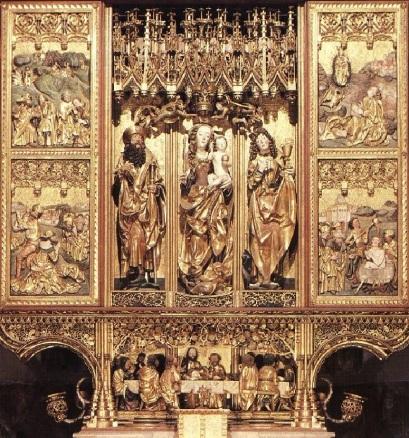 Master Paul's altar
