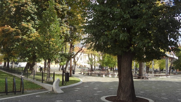 Central square of the old town of Levoca