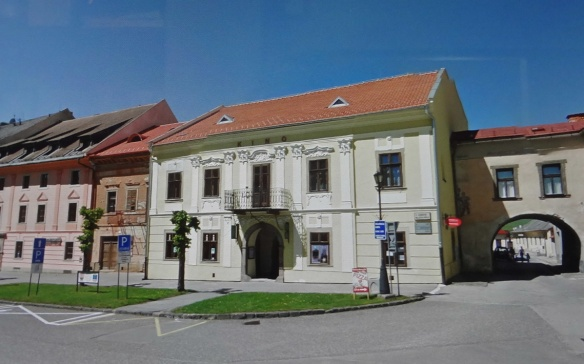 Tourist information centre of Levoca