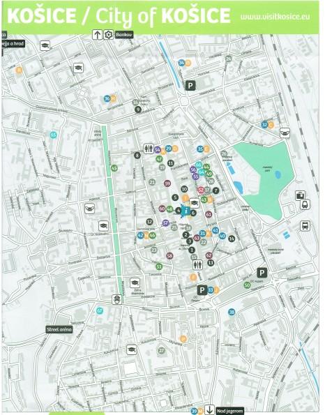 Košice City Map