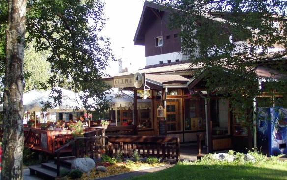 View of Tatranská Lomnica Village