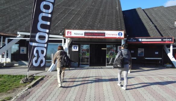 Kabinkovej cable car station