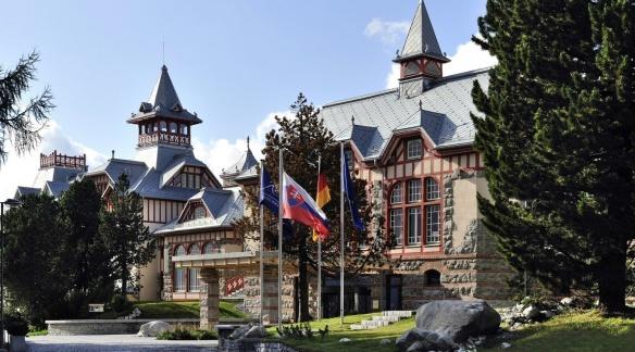 "Historical hotel ""Grand Hotel Kempinski High Tatras"""