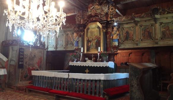 Main altar of Evangelical Church