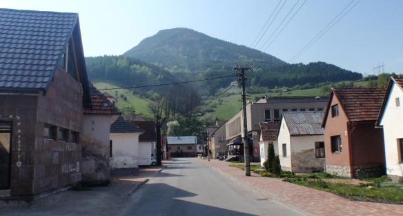 Main Street of Biely Potok Village