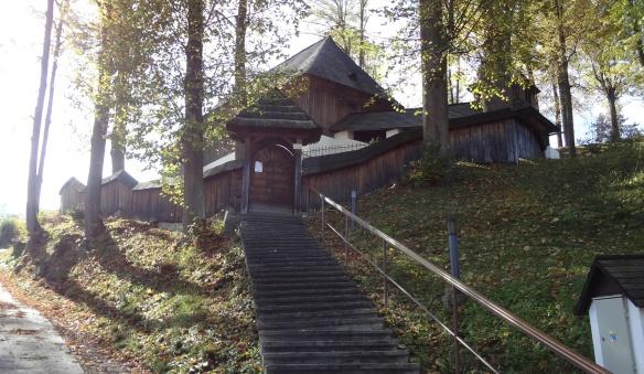 Wooden Evangelical Church in Leštiny