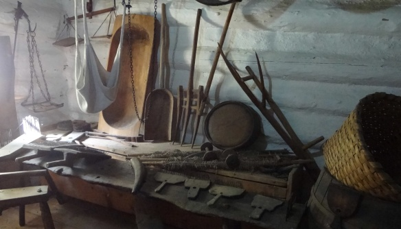 Farming equipment of the Museum