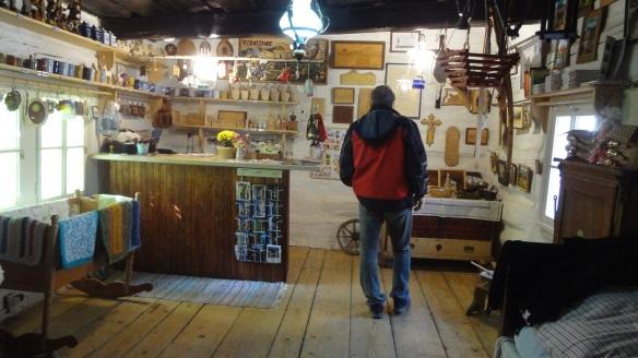 Tourist information office and souvenir shop