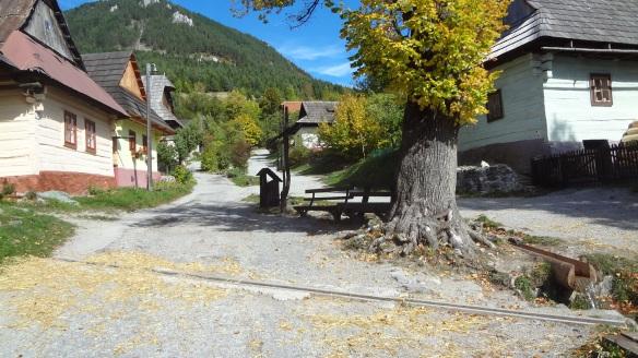 Main street of the village
