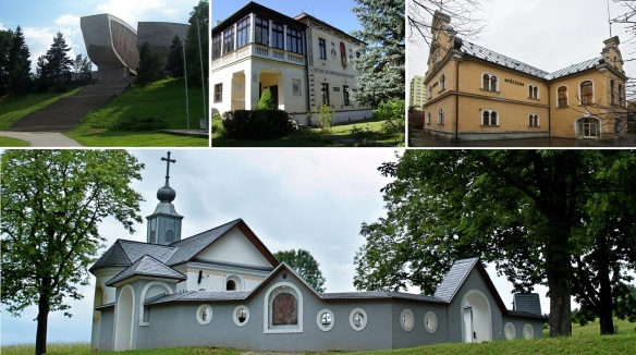⑯ Museum of the Slovak National Uprising ⑰ Dominik Skutecky Villa  ⑱ Tihanyi Mansion ⑲ Clvary