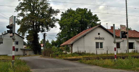 Railway station of Hronsek village