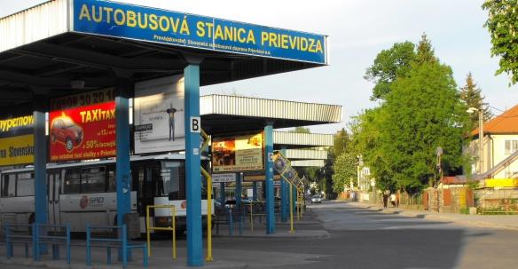 Bus terminal of Prievidza