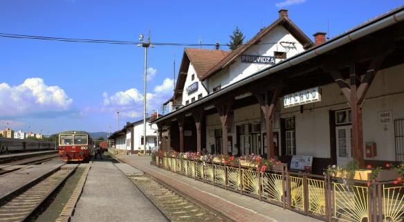 Prievidza railway station