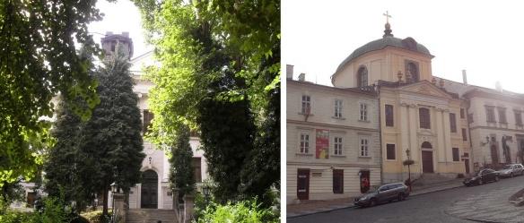 9. Botanická záhrada (Botanical Garden) 10.Evanjelický kostol (Evangelical Church), Banská Štiavnica