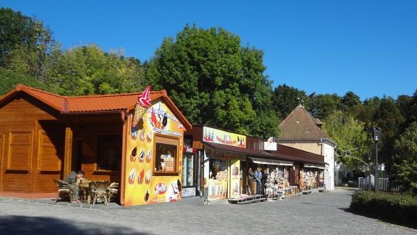Souvenir shop of Bojnice Castle