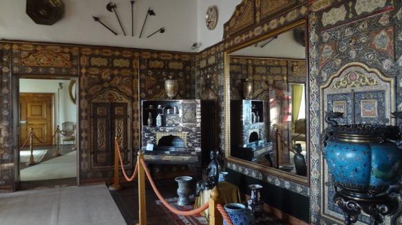 Interior of the Boiniche Castle