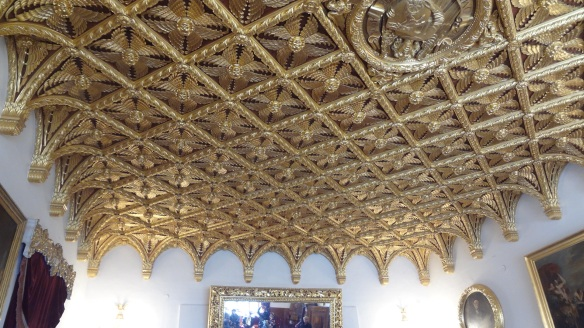 The ceiling of the Golden Hall